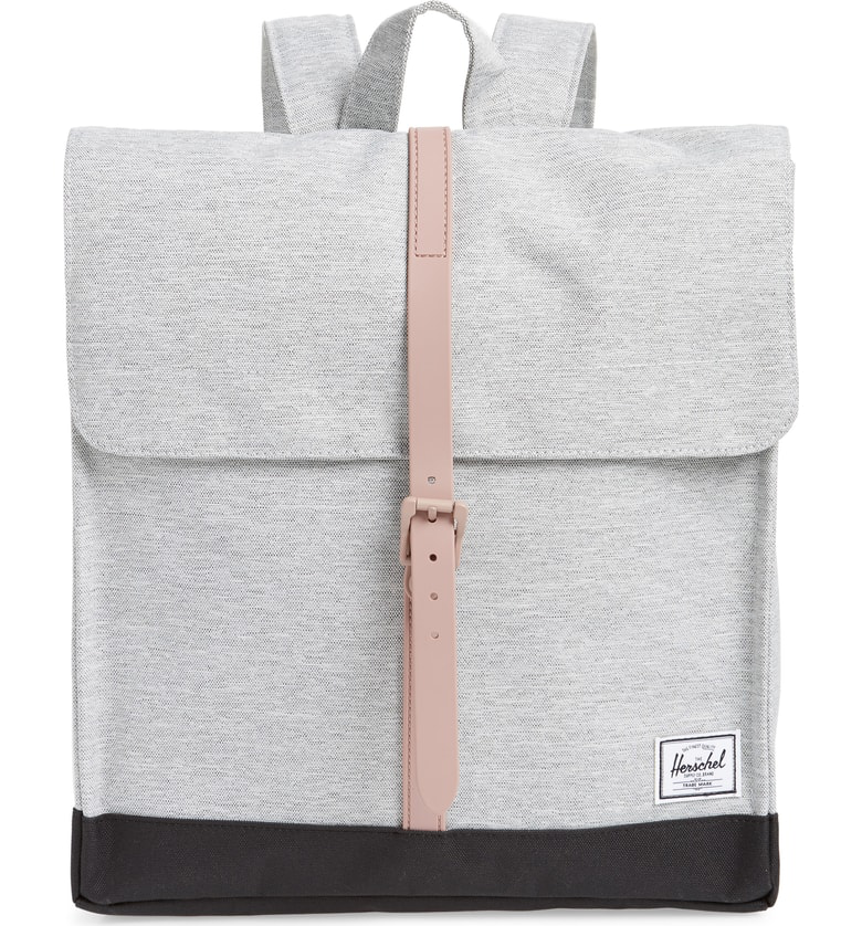 Herschel Supply Co.  City - Mid Volume  Backpack In Light Grey  Ash ... e188d000f3a05