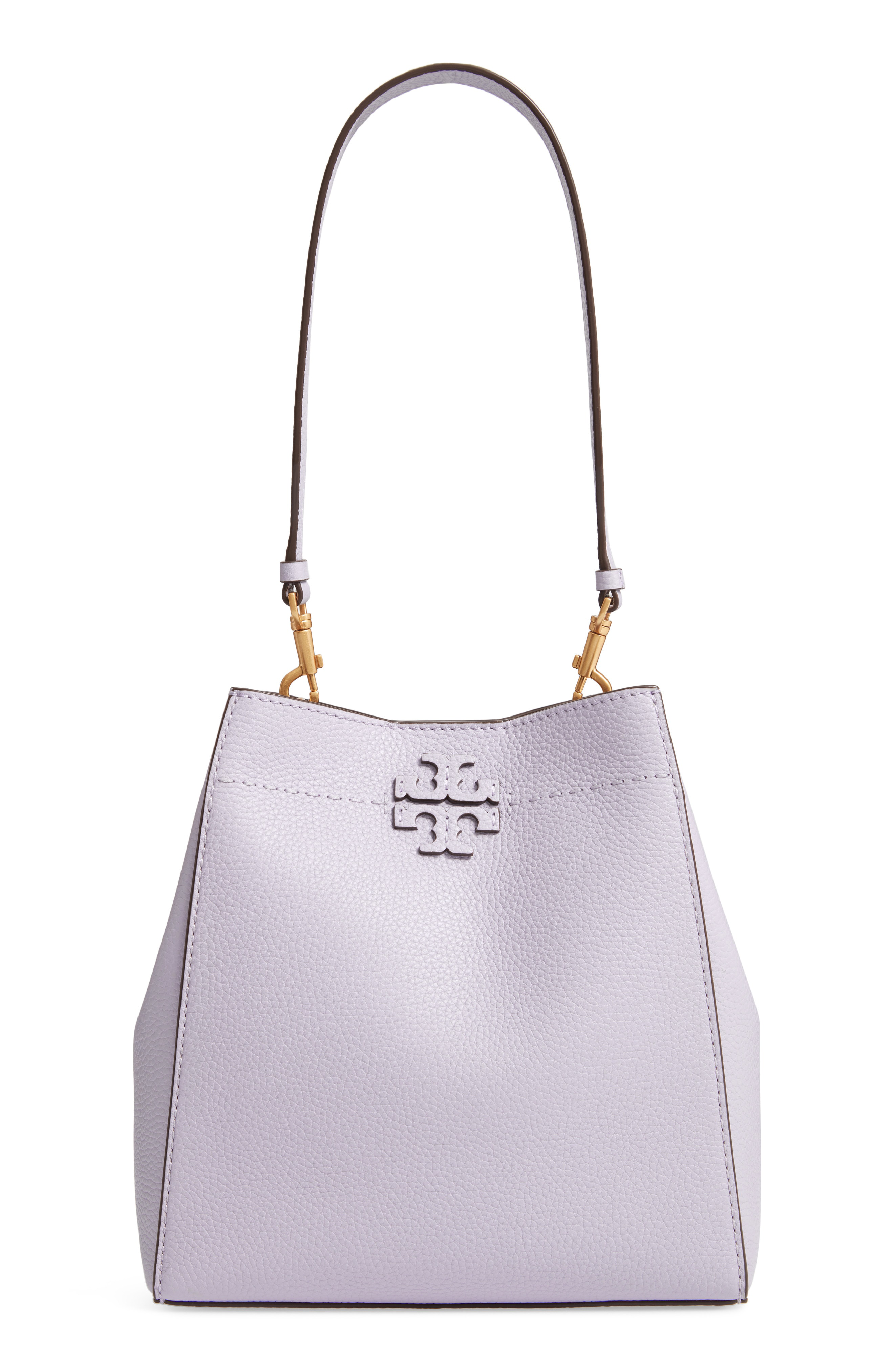 0c8fc539600d Tory Burch Mcgraw Leather Hobo - Purple In Pale Violet