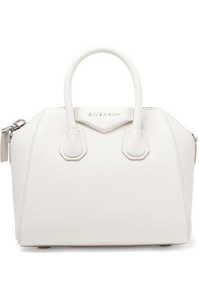 00580b3ca3 Givenchy 'Mini Antigona' Sugar Leather Satchel - White | ModeSens