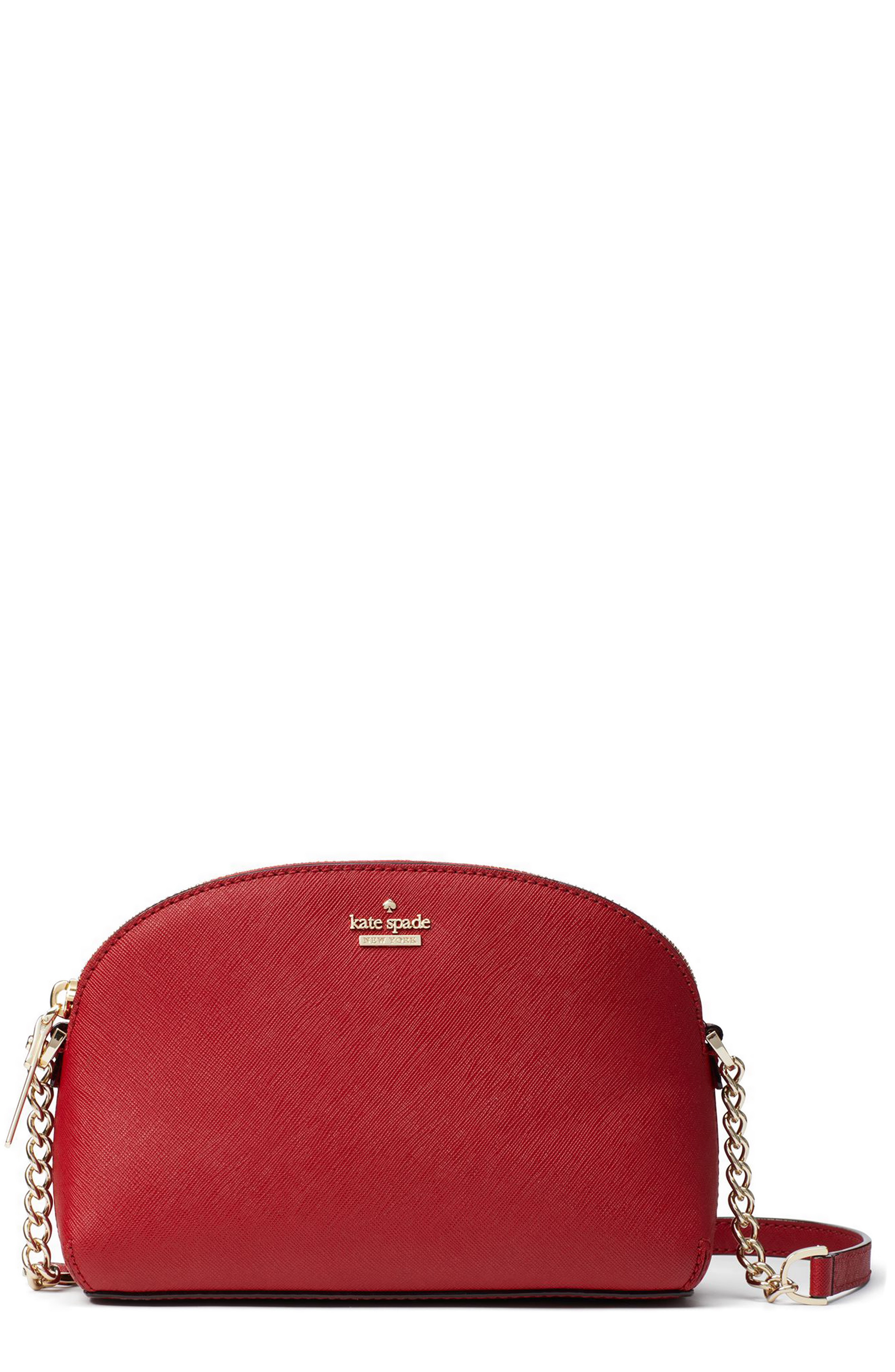 ad066b65939d6a Kate Spade Cameron Street - Hilli Leather Crossbody Bag - Red In Sienna