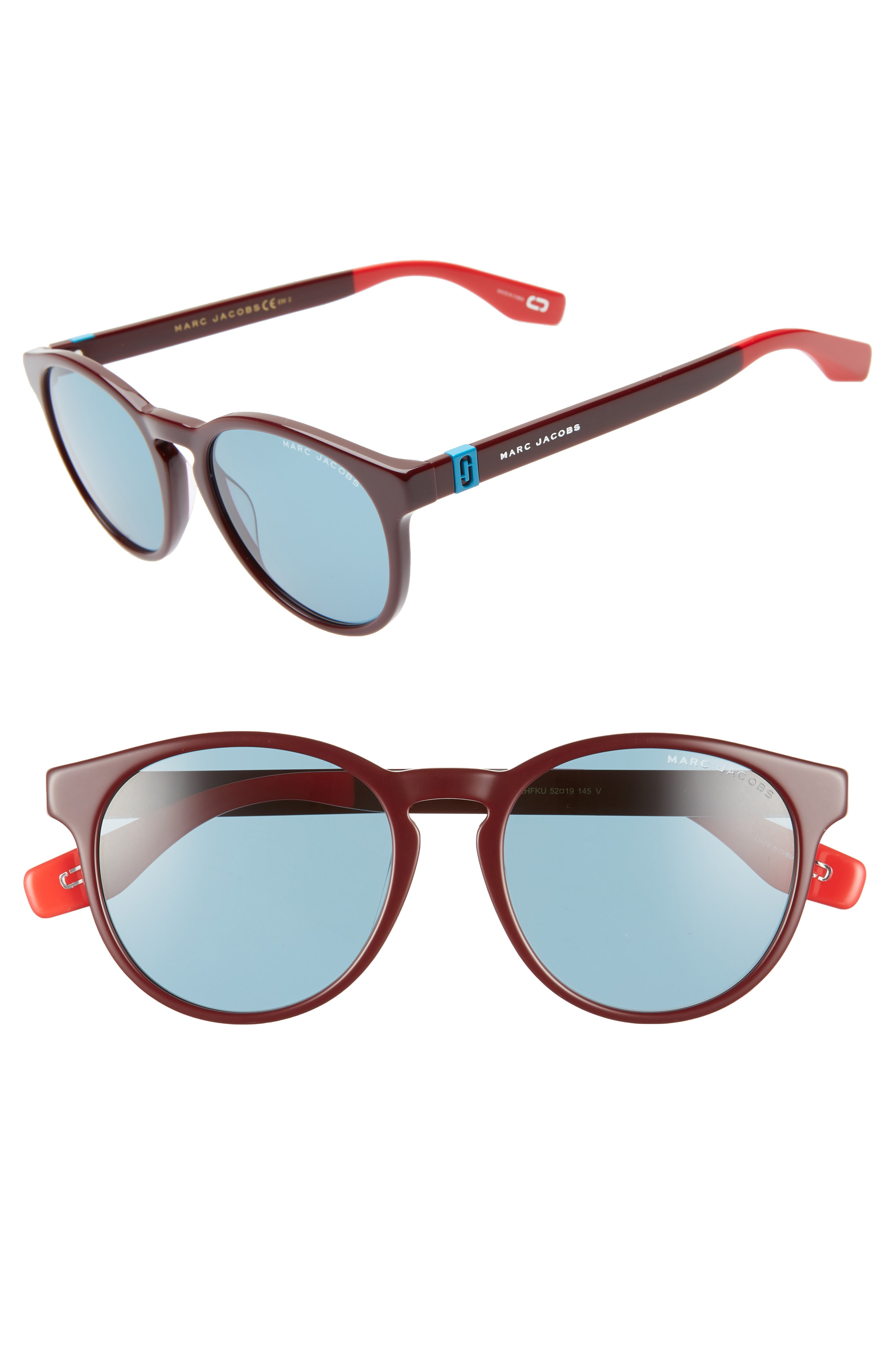b5bb45787a Style Name  Marc Jacobs 52Mm Round Sunglasses. Style Number  5711531.  Available in stores.