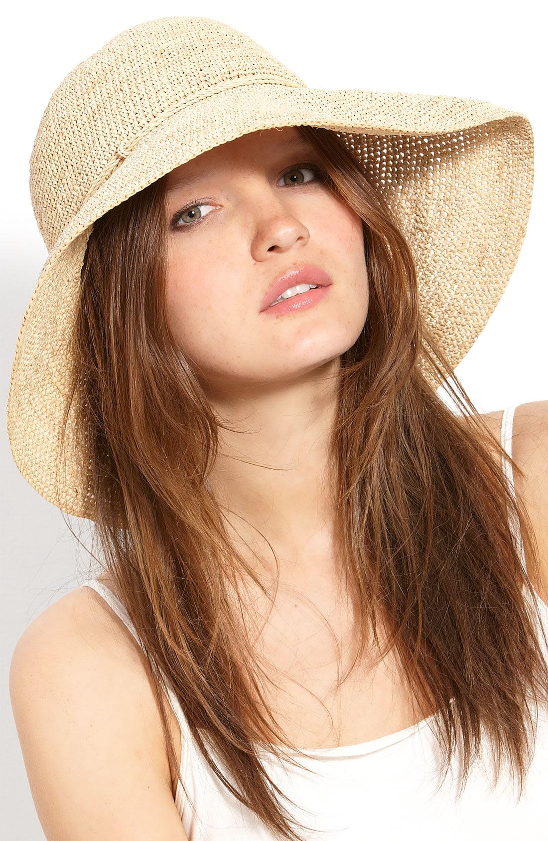 65d82f1ebdf35 Helen Kaminski  Provence 12  Packable Raffia Hat - Beige In Natural ...