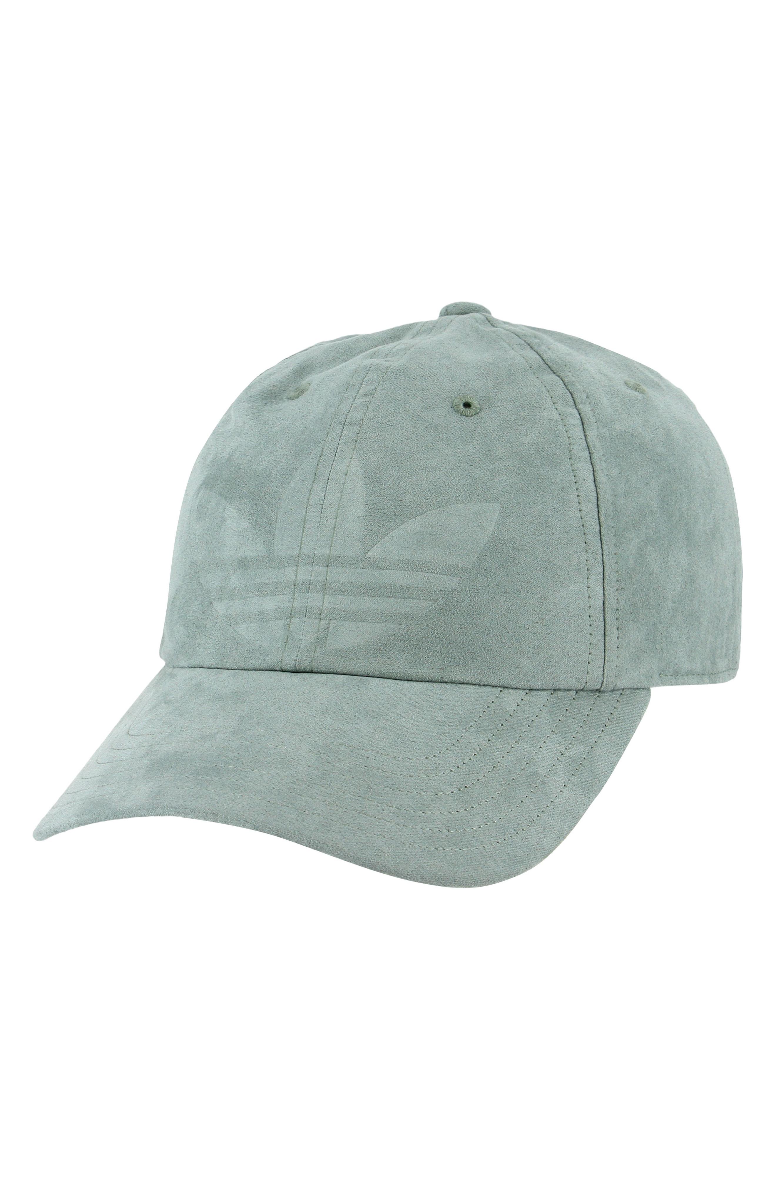 a109bde22db Adidas Originals Originals Relaxed Debossed Cap - Green In Raw Green ...