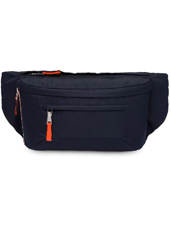 d13eea576903 Prada Technical Fabric Belt Bag - Blue | ModeSens