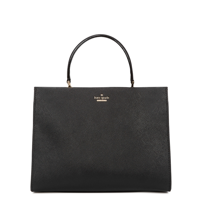 Kate Spade Cameron Street Sarah Leather Tote In Black