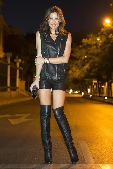 f0a775adc7c JIMMY CHOO Toni Black Calf Leather And Stretch Nappa Over The Knee Boots