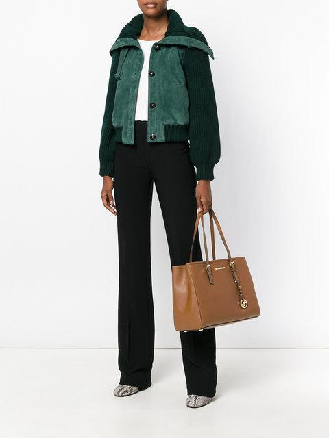 aed42733be3c MICHAEL MICHAEL KORS Michael Michael Kors Jet Set Travel Tote - Farfetch in  Neutrals