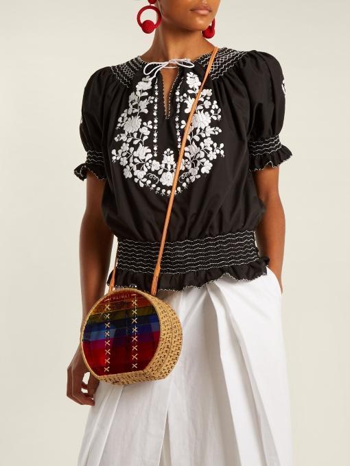 53ed5d9fd Kalita Avedon Pleated Tie-Waist Cotton Skirt In White | ModeSens