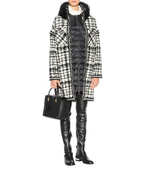 62578742d22 NICHOLAS KIRKWOOD Casati Embellished Leather Over-The-Knee Boots in Black