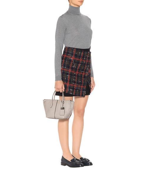 43f689e97c Tod's Joy Mini Leather Shoulder Bag In Pale Grey | ModeSens