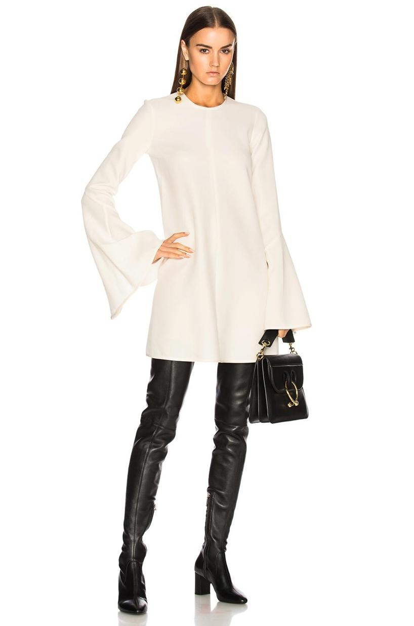 9020122e865 Saint Laurent Loulou Stretch-Napa Over-The-Knee Boot