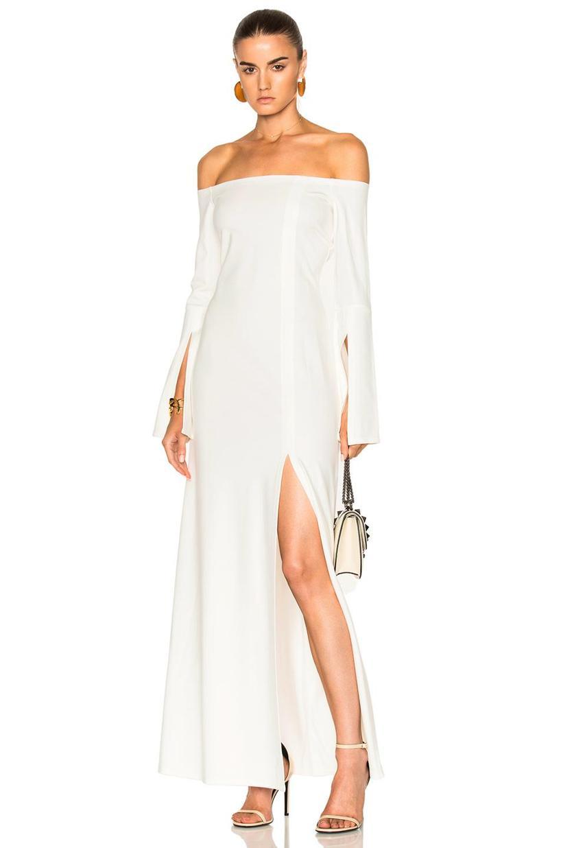 62416c8eb4f6 Valentino Small Lock Shoulder Bag In White. In Ivory