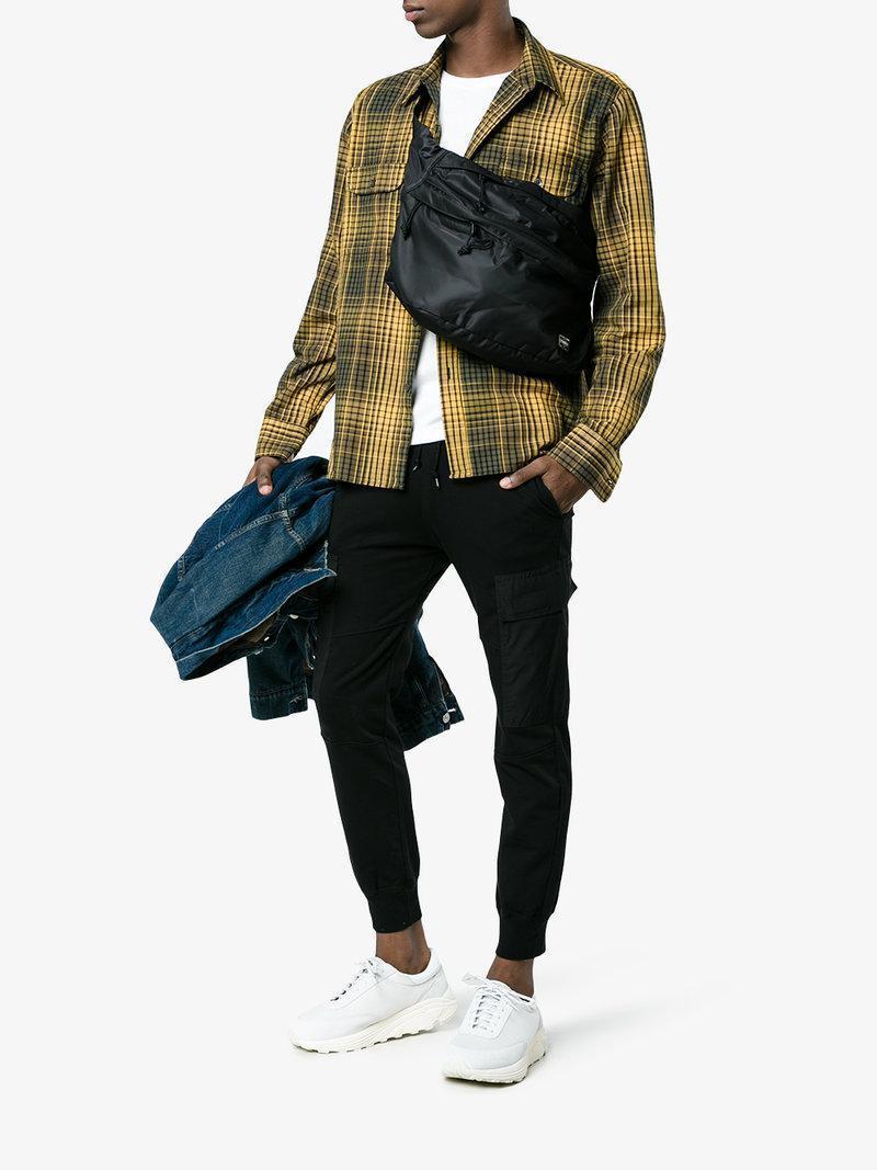 30c4d14a382c NEIGHBORHOOD Neighborhood X Porter Waist Bag in Black