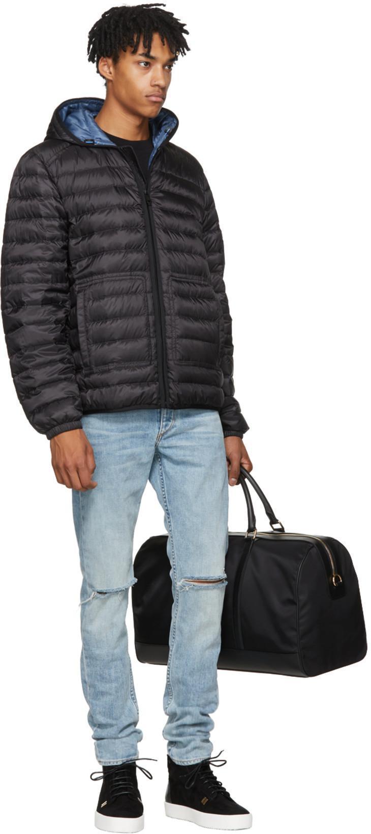e3b6c7c469 Dolce   Gabbana Black Nylon Duffle Bag