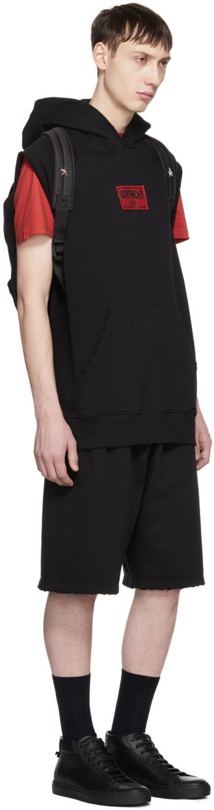 284d9cd964 Givenchy Black Nylon Stars Backpack