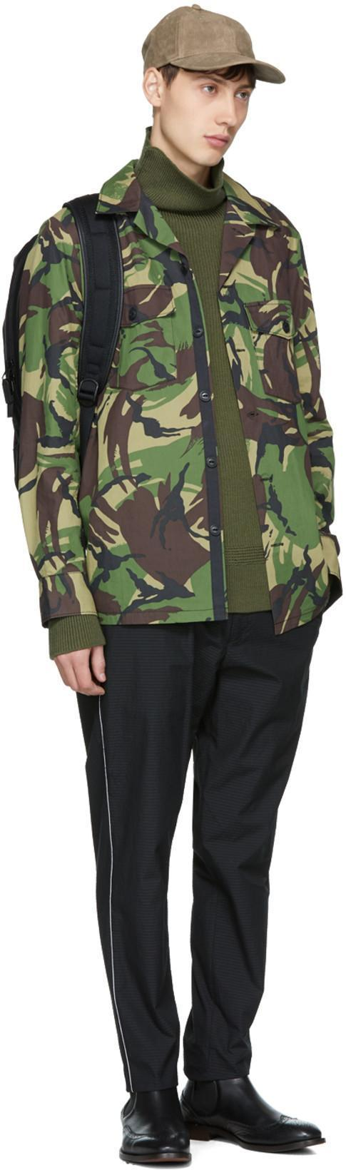 01e04cf8 Rag & Bone Heath Camouflage-Print Cotton-Blend Shirt Jacket In Green ...
