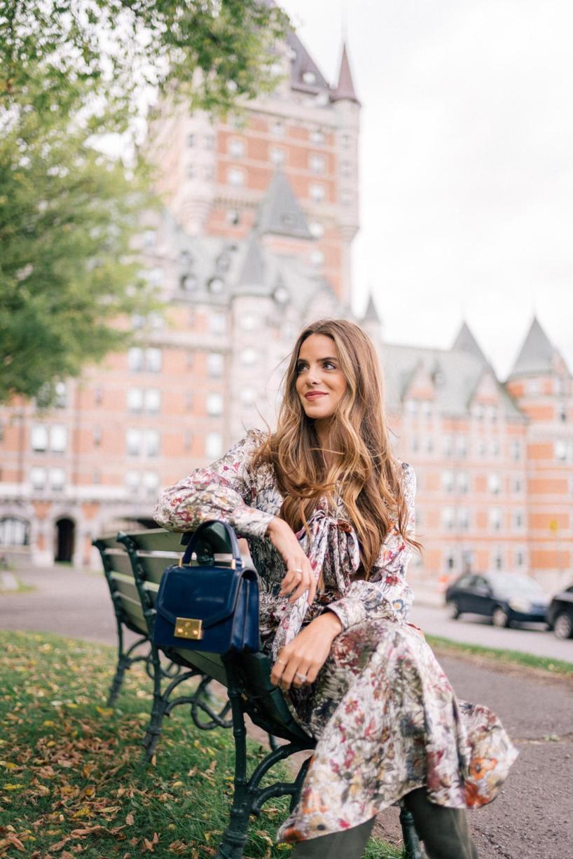 cb655dfa0e6 Tory Burch Vanessa Long-Sleeve Floral-Print Satin Dress In Neutrals ...