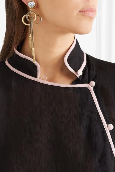 5a42075115 Prada PionniÈRe Two-Tone Leather Shoulder Bag In Black Tan