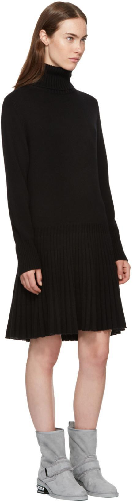 4ff54b246ca ChloÉ Iconic Cashmere Turtleneck Sweater Dress In 001