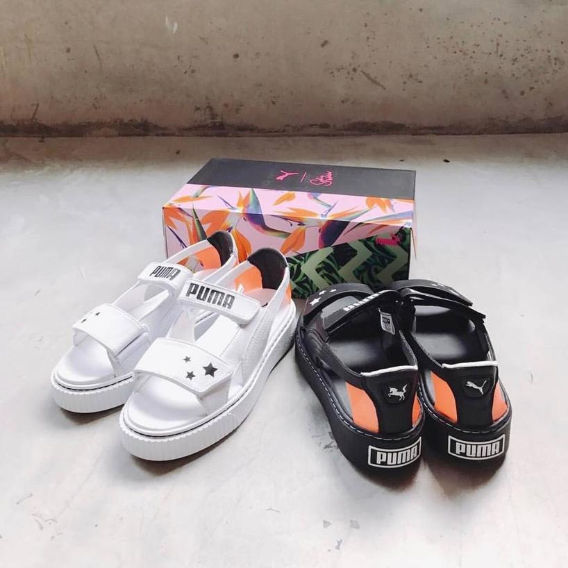 79f8e2eea5e872 Puma X Sophia Webster Platform Sandals In White