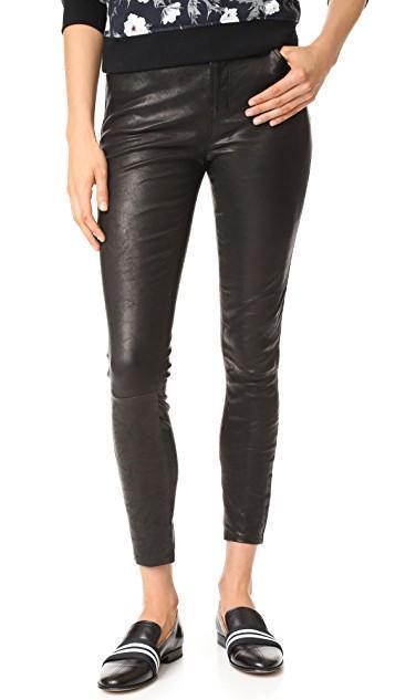 22aa8e677b1 Rag   Bone Amber Striped-Web Leather Loafer