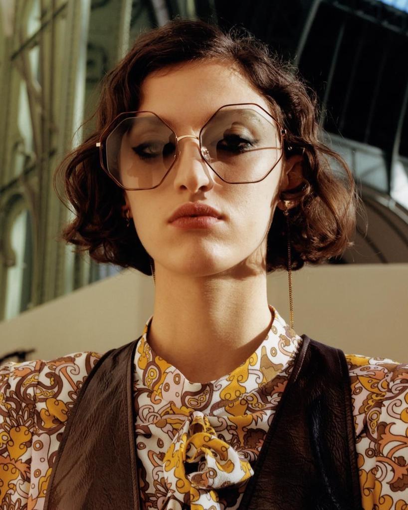 7cc9631a5de ChloÉ Women s Poppy Geometric Octagonal Sunglasses