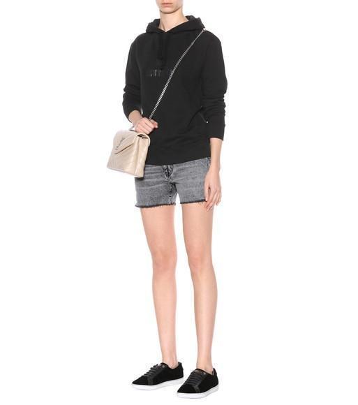 444ca8a01fd7d Saint Laurent Small Loulou Monogram Shoulder Bag In Female