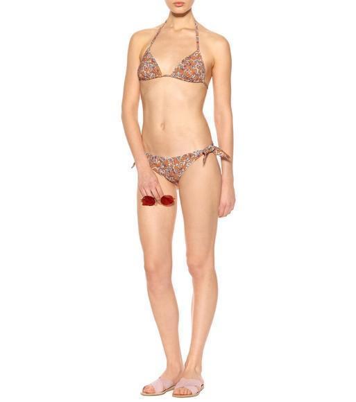 dec4e3d3f567c Etoile Isabel Marant Sukie Printed Bikini Bottoms