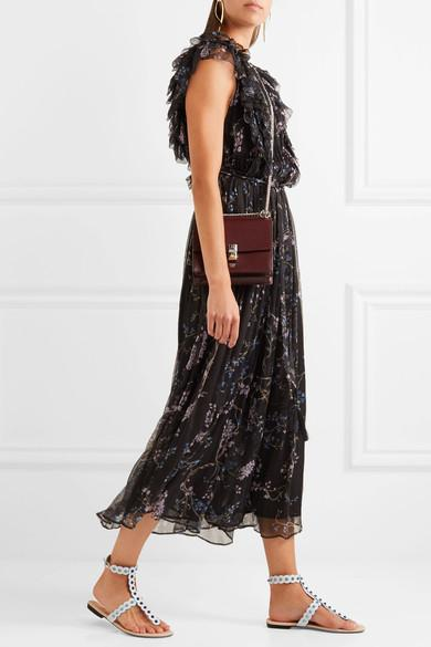 f88cc656a21 ZIMMERMANN Paradiso Floating Ruffled Printed Silk-Georgette Jumpsuit in  Black Floral