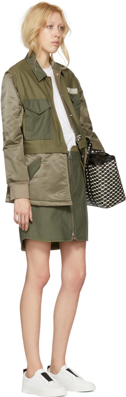 32333cd51 Rag & Bone Rag And Bone Green Maverick Skirt In Army Green | ModeSens