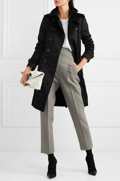 d5b419b30b42 CHRISTIAN LOUBOUTIN Dovi Dova 100 Studded Leather-Trimmed Stretch-Knit Sock  Boots in Black