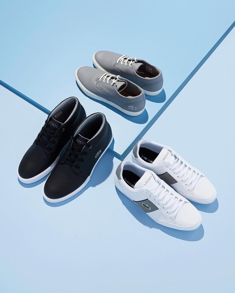 8f0e2ffc376c77 Lacoste Actus Leather Sneaker
