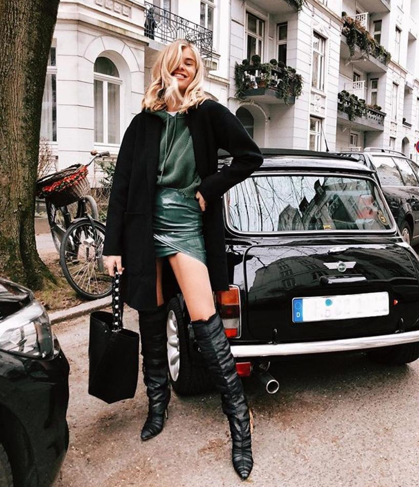 c59c803da7d4 JIMMY CHOO Lorraine 100 Black Crushed Stretch Velvet Pointy Toe Over The Knee  Boots