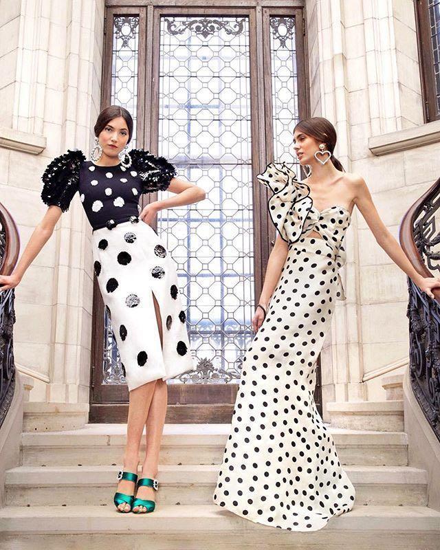 334728f4f1037 Johanna Ortiz Valley Of The Kings Silk Organza Dress In Black White ...