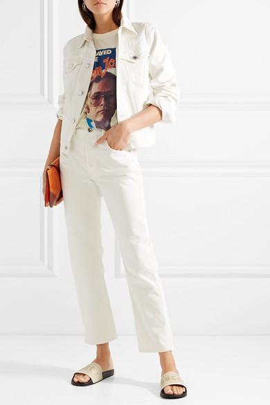 2d4d4b52c8c8 Gucci Elton John Printed Cotton-Jersey T-Shirt In White | ModeSens