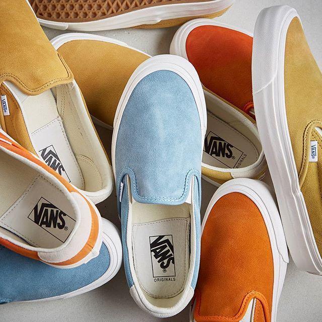 6ffc3c650ac VANS Vans Vault Og Slip On 59 Lx in Blue