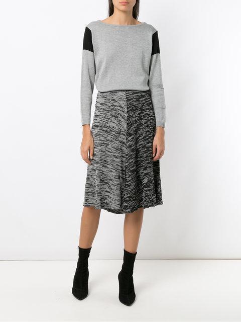 Midi Skirt Knit GreyModesens Mara Mac F1JTcl3K