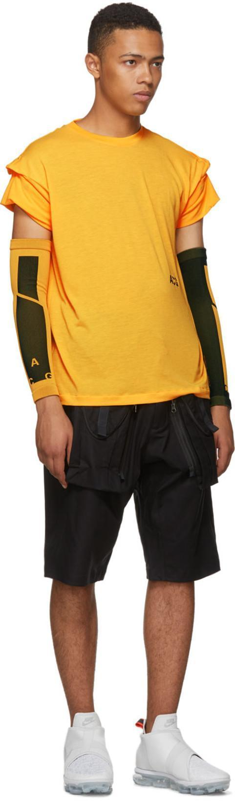5a18342f Nike Lab Orange Nrg Acg Variable T-Shirt In Laser Orang | ModeSens