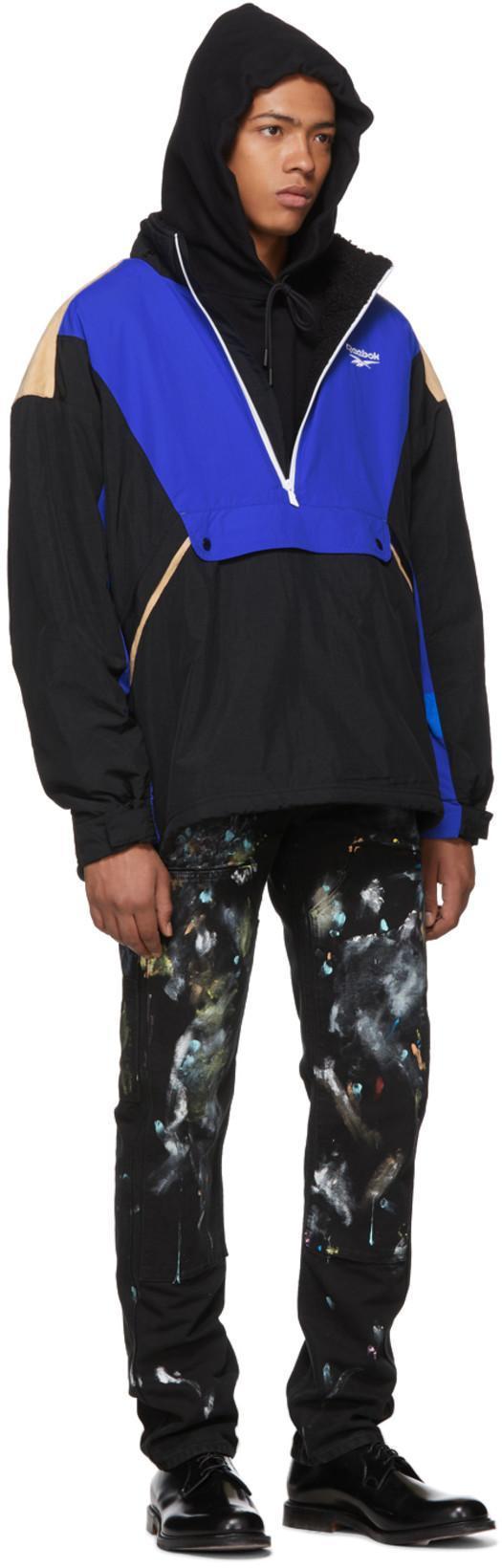 227e27e0861 Reebok Tricolor Lf Unisex Anorak Jacket
