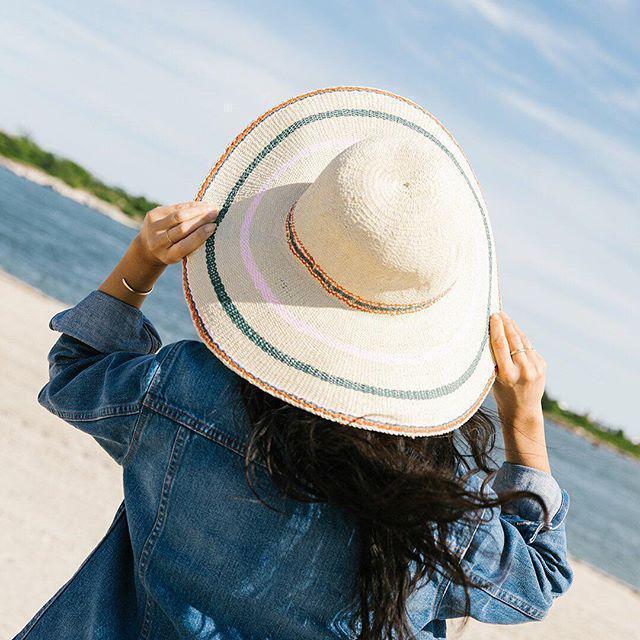 5dfb9197eca Madewell X Biltmore Tulum Stripe Straw Hat In Multi Stripe