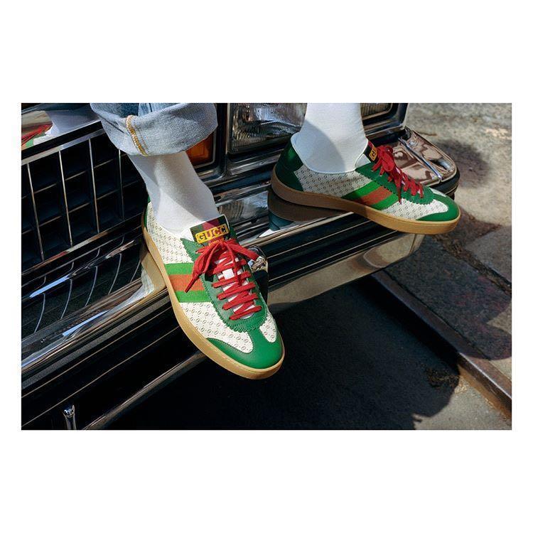 a772abb08 Gucci Men's -Dapper Dan G74 Sneaker In Orange | ModeSens