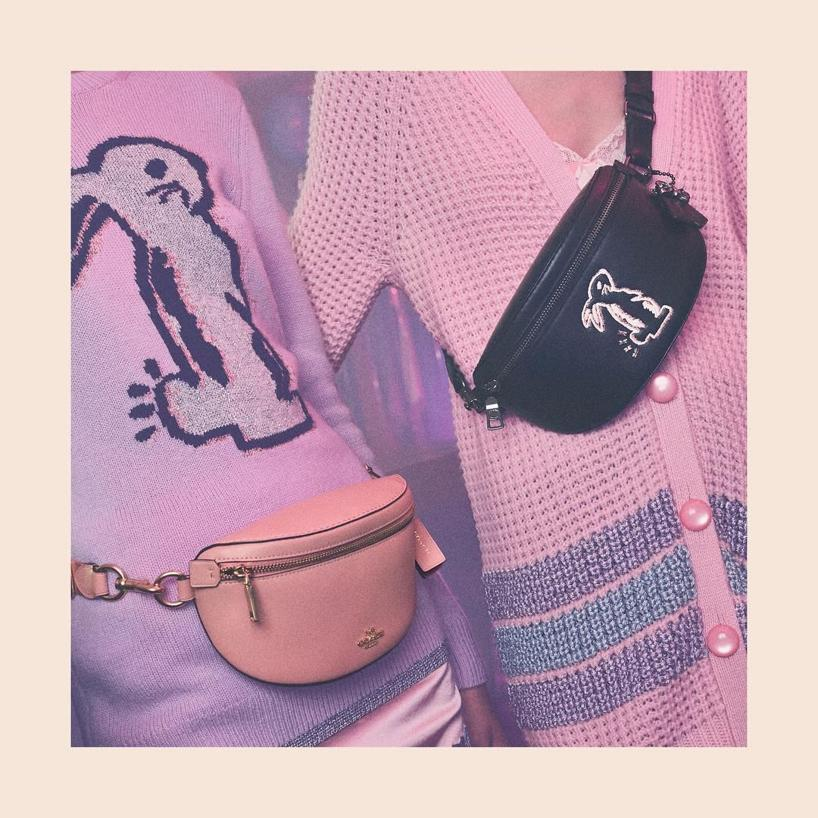 c2b963aa3616 Coach X Selena Gomez Bunny Belt Bag In Black