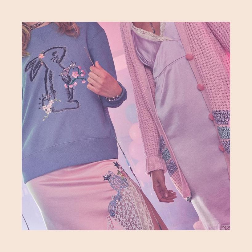 84cdcdd4ec Coach X Selena Gomez Embroidered Wool-Blend Cardigan In Pink | ModeSens