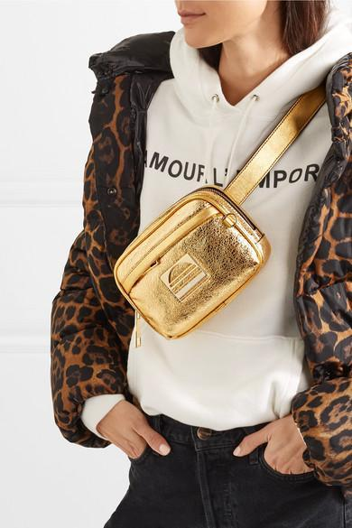 b6d16449f Moncler Caille Animal-Print Puffer Coat W/ Removable Hood In Brown ...