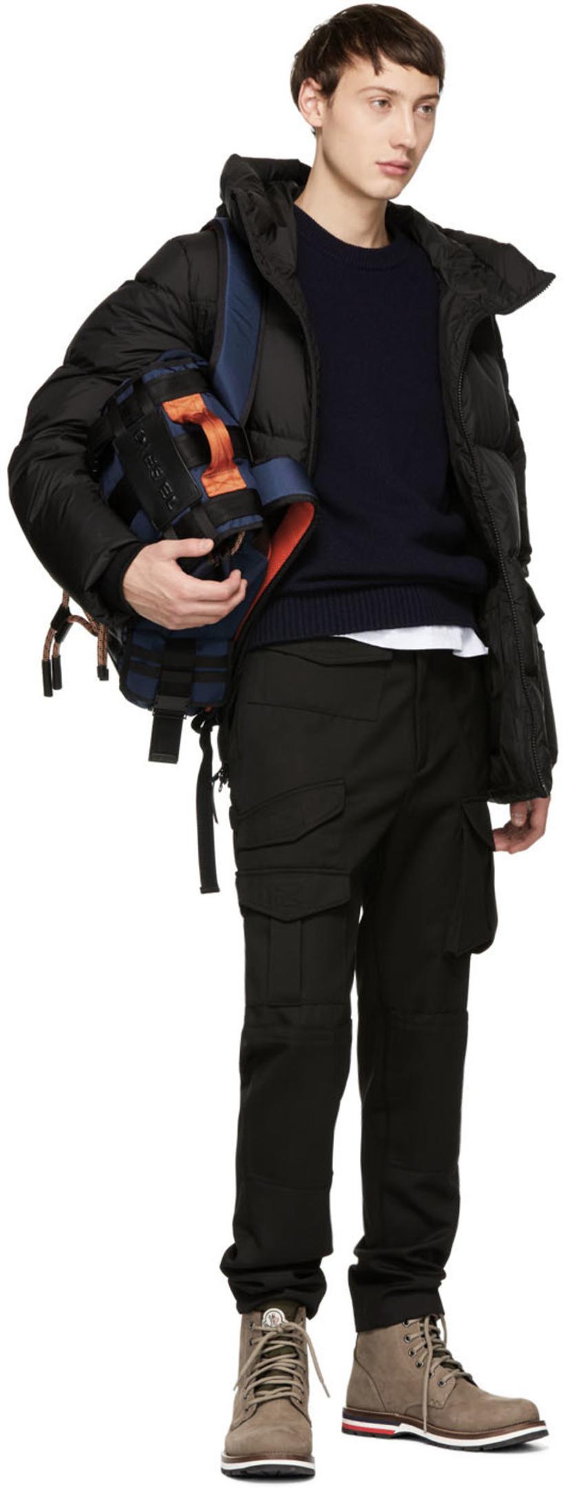 1a3f8ee81 Woolrich John Rich And Bros Black Down Sierra Supreme Short Jacket in Blk  Black