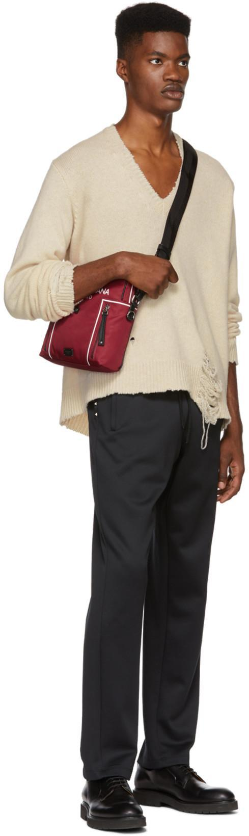 585f7a1dcf Dolce   Gabbana Red Crown Crossbody Bag
