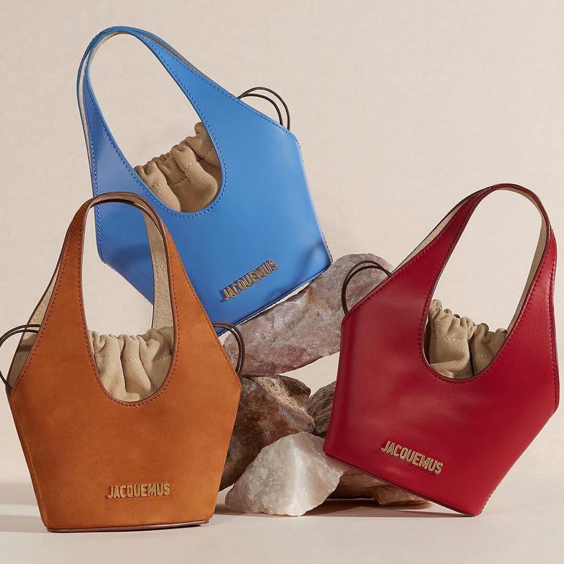 3ee044569513 JACQUEMUS Jacquemus - Le Cariño Patent Leather Bag - Womens - Blue