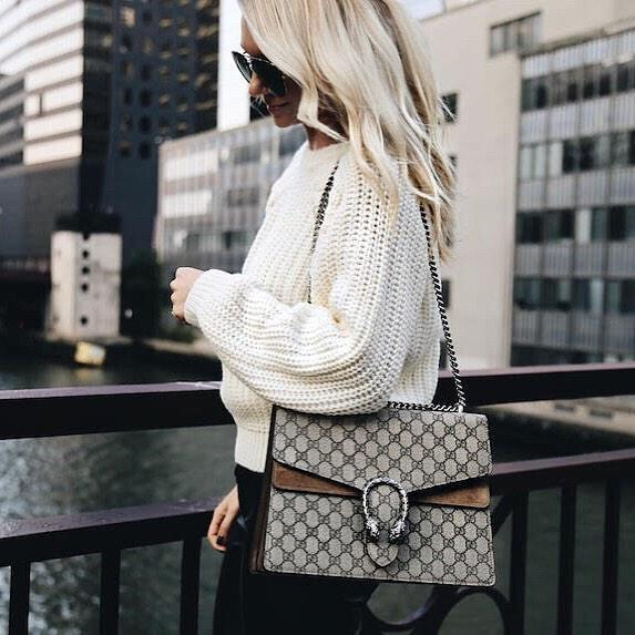 8931d26e9d GUCCI Mini Dionysus Gg Supreme Shoulder Bag, Ebony/Taupe in 8642 Beige  Ebony Tau