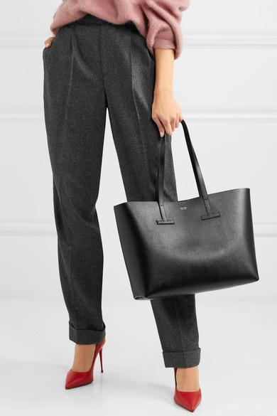 0631ce62b7 Tom Ford T Large Textured-Leather Tote In Black | ModeSens