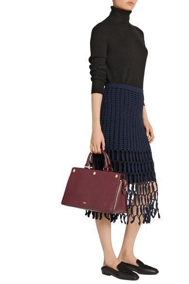 0ddd5a6fc08 Mulberry Chester Textured-Leather Tote | ModeSens